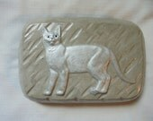 Handmade Cat Stone Doorstop, SHIPPING INCLUDED