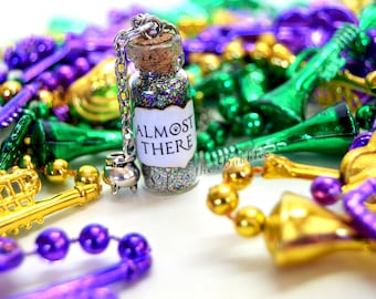 Disney The Princess and the Frog Necklace with a Gumbo Cooking Pot Charm, Almost There, Tiana, Motivational Jewelry, Life is the Bubbles