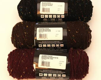 Red Heart Super Saver Fleck Acrylic Yarn choose a color