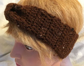 Crocheted Alpaca Headband