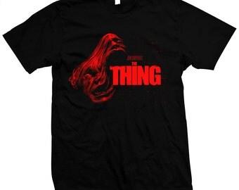 John Carpenter's The Thing - Kurt Russell - Hand made 100% cotton silk screened t-shirt
