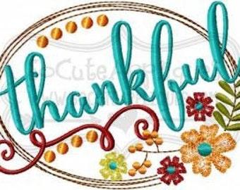 Thankful holiday shirt - Girls holiday applique design - Thanksgiving monogram shirt - holiday applique - girls shirt - Thanksgiving shirt