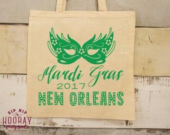 Mardi Gras, Totes, Mardi Gras Mask, Mardi Gras Party, Tote, Mardi Gras Bag, New Orleans Tote, Mardi Gras Bead Bag, Mardi Gras Beads, 1675