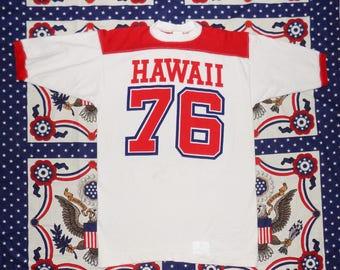 Rare Vintage Crazy Shirts Hawaii '76 Jersey T-Shirt Men's M