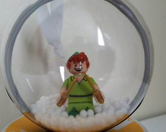 Disney Inspired Lego Peter Pan Ornament