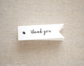 Thank You Gift Tags - Wedding Favor Tags -  Custom Gift Tags - Party Favor - Bridal Shower Tag - Baby Shower - Set of 40 (Item code: J299)