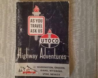 UTOCO Highway Adventures guide.1960 edition