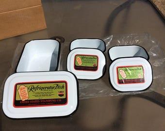 Vintage Refrigerator Dishes