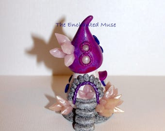Enchanted Fairy Garden Crystal Gnome Home