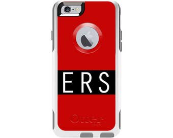 Solid Color Personalized Custom Otterbox Commuter Case for iPhone 6 and iPhone 6s