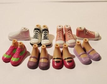 Bratz Shoes, Bratz Skates, Bratz ballet slippers, bare feet, Bratz barefeet, Bratz flats, Bratz sneakers,