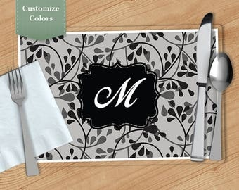 Drop Vine -  Personalized Placemat, Customized Placemats, Custom Placemat, Personalized Gift