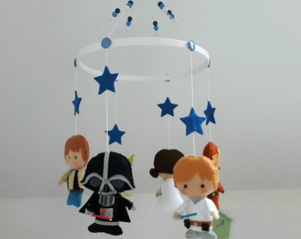 Baby Star Wars hanging mobile