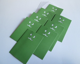 DESTASH >> St. Patricks cards w/envelopes