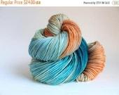On Sale: Hand Dyed Sport Weight Yarn, Super Sport, Super Wash Merino Wool/ Nylon, Why So Koi?