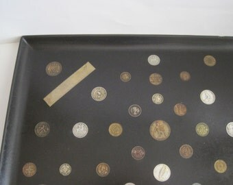 Vintage Couroc of Monterey Inlaid Coin Tray - 1950's