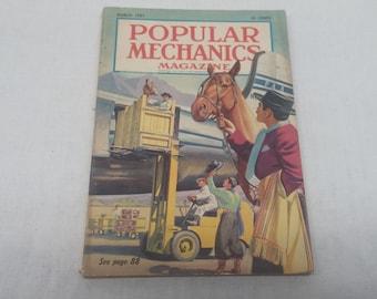 Popular Mechanics March 1951- Nash Builds a Sportscar, John Wayne Camel Cigarette Ad - Interesting Articles and Vintage Ads