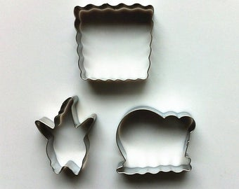 SpongeBob Cookie Cutter Patrick Star Biscuit Cutter/Snail Cookie Cutter Mold/Metal Biscuit Cutters/Baking Supply/Theme Party
