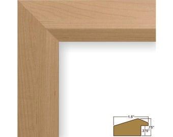 craig frames 24x30 inch american maple picture frame balla 15 wide 170152430