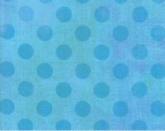 Grunge Hits the Spot - Dots in Sky - Basic Grey for Moda - 30149-26 - 1/2 yard