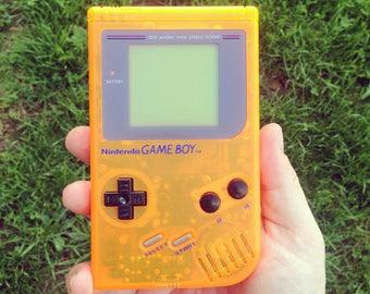 Original Game Boy in Orange