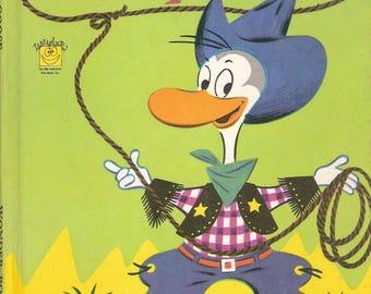Gandy Goose Vintage Children's Wonder Book by Leon Jason Illustrated by Ruth Ruhman