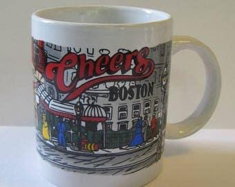 Vintage Cheers Coffee Mug