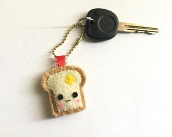 Toast key chain