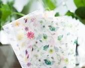 Translucent Floral Letter Writing Set Writing Paper Envelope Letter Envelopes