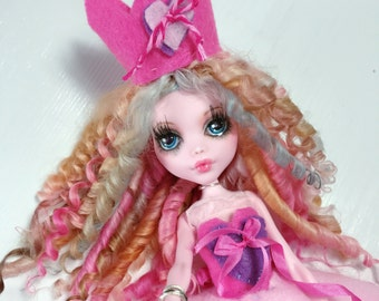 Monster High Doll Custom Pink Valentines