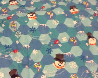 Frosty the Snowman Quilt