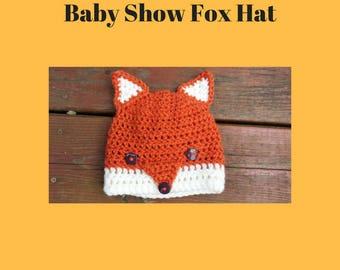 Fox Beanie - 12 to 24 months