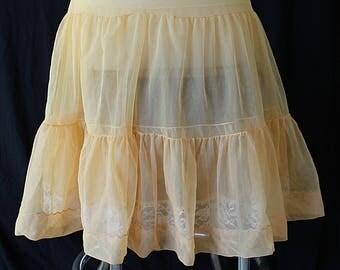 50s 60s Petticoat, Format, Reversible, Lace Crinoline, AS IS