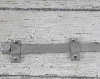 Vintage Steel Lock Steel Slide Lock Ives 453 Surface Bolt