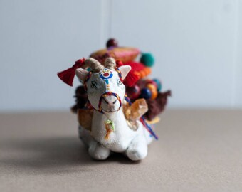 Sacred Animal Sculpture- The Carrier of Innocence and Sincerity: The Goat