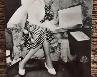 Original Vintage Photograph Polka Pauline 1960