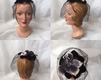 1950s birdcage veil