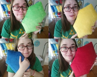 RUPEE Zelda Legend of Zelda Cute Gaming Plush Pillow