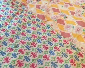 Early 1900's Patchwork Quilt
