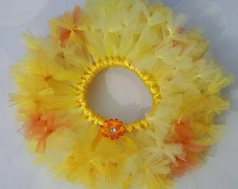 Yellow Toddler Tutu - Sunshine Tutu - Yellow Petti - Sun Tutu - Girls Yellow Petti - Baby Tutu- Petti - Newborn Tutu -  Birthday Tutu - Tutu