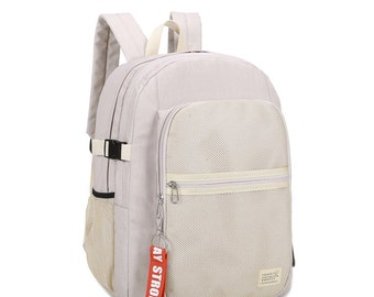 Stripe point Backpack(Ivory)