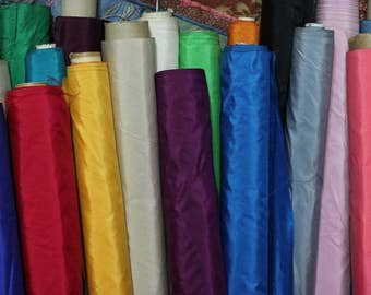 "36"" pure silk taffeta, only 14.50/yd"