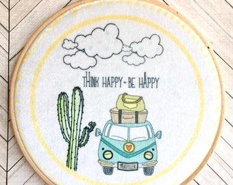 Telaio d'Autore - Think Happy
