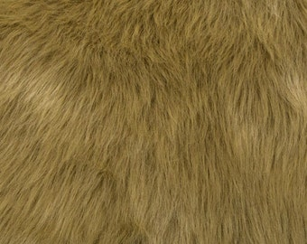 Fun Monkey Fur Palamino 60 Inches Fabric by the Yard, 1 yard