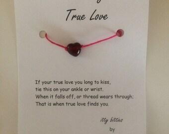 Find My True Love Bracelet