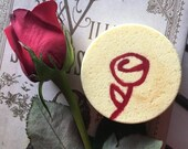 20% Off Bookworm Belle Bath Bomb, Beauty and the Beast Bath Bomb, Rose Bath Bomb, Bath Fizzy, Shower Fizzies