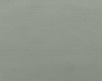 45 Inch Poly Cotton Broadcloth Silver Fabric by the yard - 1 Yard