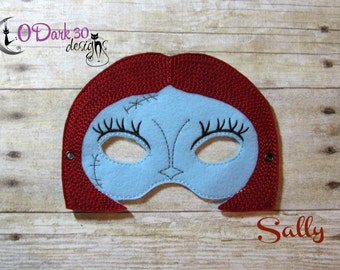 Sally  Inspired Childrens Dress Up Mask for Kids