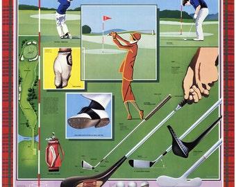 L. Patrignani-Golf-1990 Poster