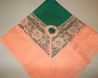 CinJas Large Cotton Church Lap Scarves, Lap Scarfs, Handkerchiefs, Women Church Lap Scarves, Ladies Lap Scarves, Lap Cloths